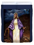 Virgin Mary- The Protector Duvet Cover