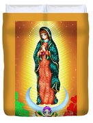 Virgin Of Guadalupe. Duvet Cover