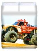 Virginia Beach Monster Truck Rally Duvet Cover