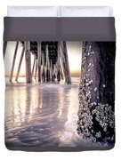 Virginia Beach Pier 2 Duvet Cover