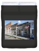Virginia City Ghost Town - Montana Duvet Cover by Daniel Hagerman