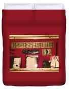 Virginia Dale - Burn Relics In Red Duvet Cover