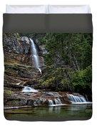 Virginia Falls In The Pool Duvet Cover