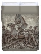 Virginia Monument Gettysburg Battlefield Duvet Cover