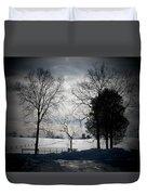 Virginia Snow Duvet Cover by Joyce Kimble Smith