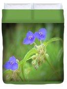 Virginia Spiderwort Duvet Cover