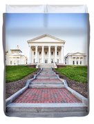 Virginia State Capitol Building Duvet Cover