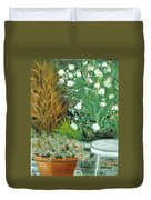 Virginia's Garden Duvet Cover