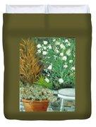 Virginia's Garden Duvet Cover