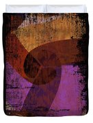 Virgo Illuminations Duvet Cover