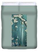 Viridian Bloom Duvet Cover