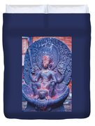Vishnu Astride Garuda Duvet Cover