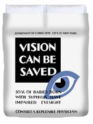 Vision Can Be Saved - Wpa Duvet Cover