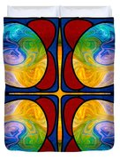 Visions Of Bliss And Abstract Artwork By Omaste Witkowski Duvet Cover
