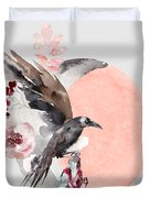 Visions Of Crystal Eyed Ravens Duvet Cover