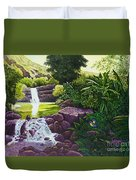 Visions Of Paradise X Duvet Cover