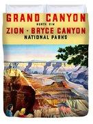 Visit Grand Canyon - Restored Duvet Cover