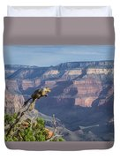 visit to Grand Canyon  Duvet Cover