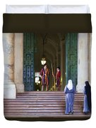 Visitors Duvet Cover
