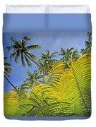 Viti Levu, Coral Coast Duvet Cover