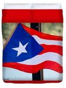Viva Puerto Rico Duvet Cover