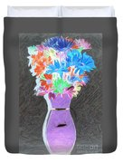 Vivid Arrangement Duvet Cover