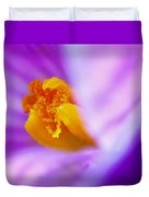 Vivid Crocus Detail Duvet Cover