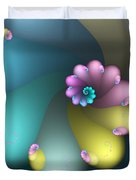 Vivid Whisper Duvet Cover