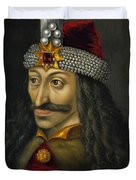 Vlad The Impaler Portrait  Duvet Cover