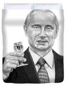 Vladimir Putin Duvet Cover