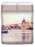Vltava Ride Duvet Cover