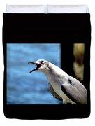 Vocal Sea Gull Duvet Cover
