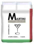 Vodka Martini Duvet Cover