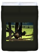 Voice Of The Farm Duvet Cover