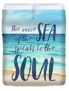 Voice Of The Sea Duvet Cover