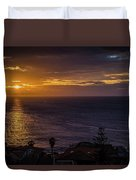 Volcanic Sunrise Duvet Cover