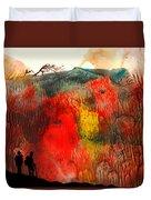 Volcano Duvet Cover