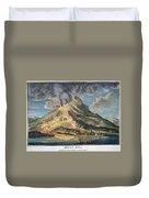Volcano: Mt. Etna Duvet Cover