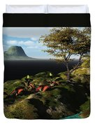 Volcano View Duvet Cover
