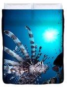 Volitan Lionfish Duvet Cover by Steve Rosenberg - Printscapes