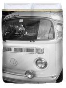 Volkswagen Westfalia Camper Duvet Cover by Stefano Senise
