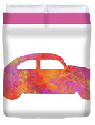 Volkswagom Beetle Art Flames Duvet Cover