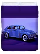 Volvo Pv 544 1958 Mixed Media Duvet Cover