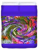 Vortex Abstract Art No. 18 Duvet Cover