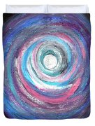 Vortex Of Love 2 Light Is Wave And Particle Duvet Cover