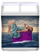 Voyage Duvet Cover