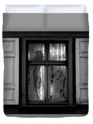 Voyeurism - Nude In Window Duvet Cover