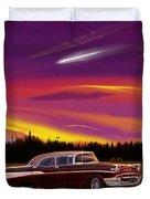 Vintage Stars Duvet Cover