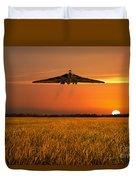 Vulcan Farewell Fly Past Duvet Cover
