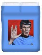 Vulcan Farewell Duvet Cover
